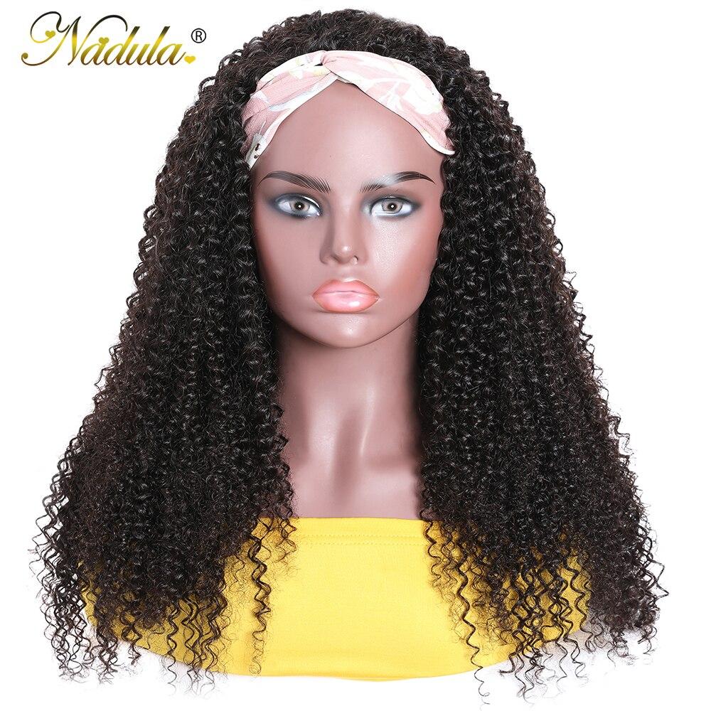 "Kinky Curly Half Wig 12""-28inch Long  Wig  Nadula Kinky Curly Headband Wig Affordable Natural Hair Wig 6"