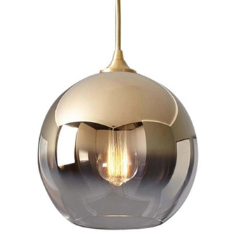 nordic deco maison glass bedroom  restaurant  hanging lamp