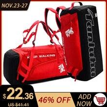 Siłownia torba na siłownię wodoodporne torby sportowe dla mężczyzn Fitness kobiety trening jogi torebka z przegrodą na buty worek podróżny De Sport 30L