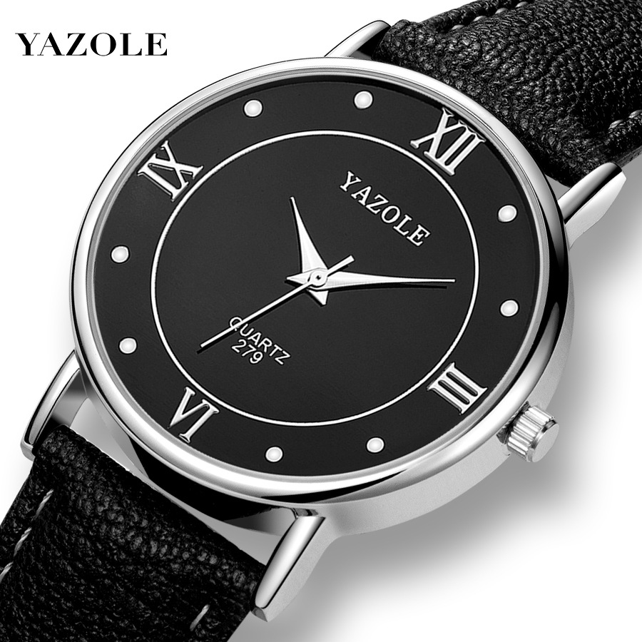 Man Quartz Wristwatch Men Casual Male Watch Simple Watch Men Leather Strap Men's Couple Watch Style Man Watches 2019 Reloj