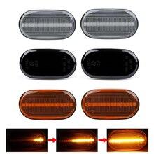 2x LED Dynamic Side Marker Lights Turn Signal Sequential Lamps For Suzuki Jimny JB64W Sierra JB74W JB23W Lapin Carry Truck DA63T