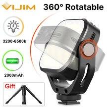 Vijim vl66 светодиодный светильник для видео на камеру u стойка