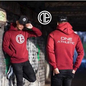 Image 5 - Mens Fashion fitness coat Singlets Sweatshirts Mens Hoodies Stringer Bodybuilding Fitness Shirts Suitable For Autumn