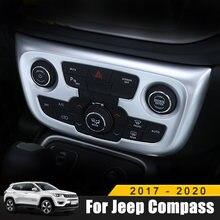 Для jeep compass 2017 2018 2019 2020 abs хромированные аксессуары