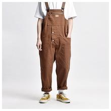 Tools and Workwear Multi-pocket Overalls Men Safari Style! Work Bib Trousers Men's Worker Cargo Pants Multifunctional Coveralls