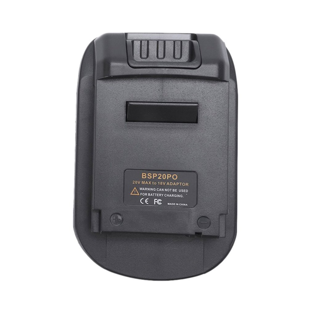 BPS20PO Battery Adapter For Power Tools Portable 18V Lithium Battery Converter Power Tools Battery Adapter