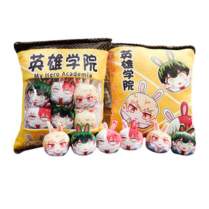 Image 5 - 1Pc Anime The Founder Of Diabolism, Demon Slayer Plush Pillow Cute Doll Soft Toy Pillow Cushion Gift Anime Around