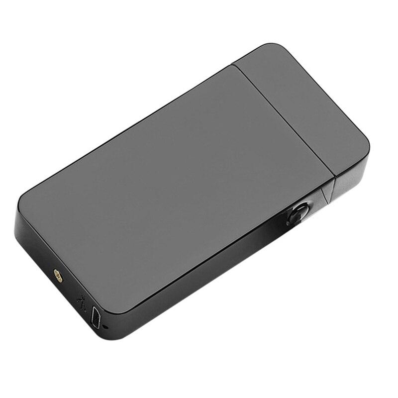 USB Lichtere Elektrische Dual Arc Metalen FlamelessTorch Oplaadbare Windaansteker Nieuwe Mode en Hot Selling-in Sigaret accessoires van Huis & Tuin op  Groep 3