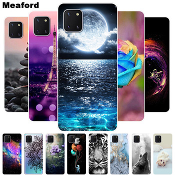 For Samsung Note10 Lite Case Soft Silicone Back Cover For Samsung Galaxy Note 10 Lite Phone Case S10 Lite 2020 TPU Cover Cases x level case for samsung galaxy note 10 original liquid silicone back phone cover for samsung note 10 plus case note10