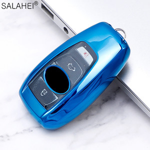 Carcasa de TPU blando de excelente calidad para coche con llave inteligente para Subaru Forester XV 2019 BRZ Trezia Legacy Outback, accesorio para llave