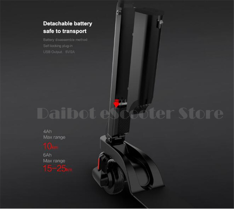 HX X6 Folding Electric Scooter Two Wheel Electric Scooters Mini Protable Backpack E-Scooter Electric Bike Ebike (4)