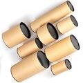 Stern Verpackung Eco Freundliche Kraft Papier Karton Push Up Papier Rohr-in Teedosen aus Heim und Garten bei