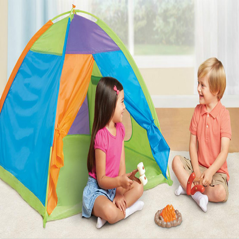 kid play house kids playhouse Children indoor garden playhouse-outdoor+mat free shipping