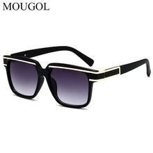 MOUGOL2019 new Kagar with mens sunglasses Europe and America luxury ladies big box fashion gradient