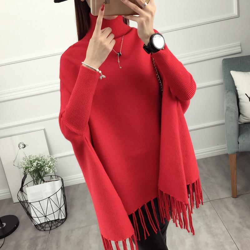 2019 специальное предложение, хлопковый пуловер, джемпер Ohclothing, новый женский головной свитер, шаль с бахромой, осеннее пальто на весну и осен...