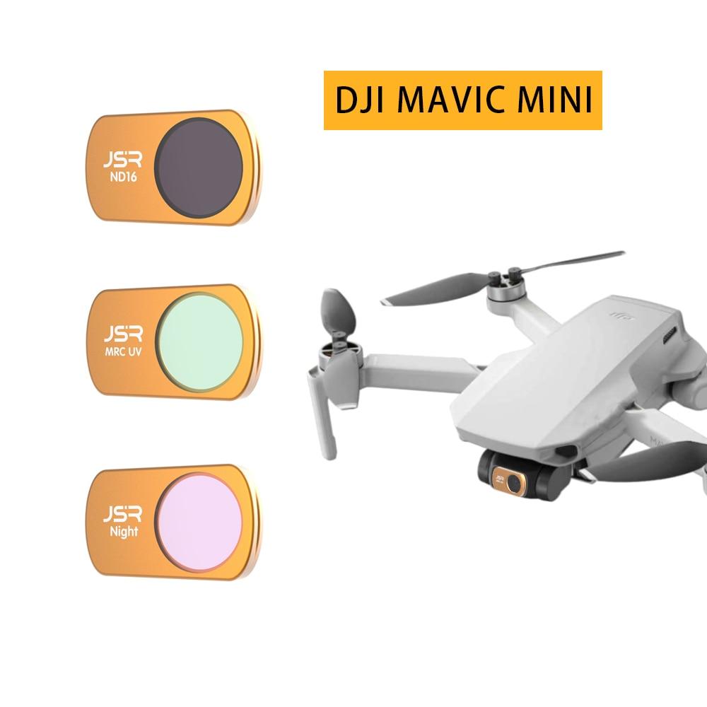 Lens Filter For DJI Mavic Mini Drone Filters UV CPL STAR ND 8 16 32 64 PL Drone Camera Lens Filter For DJI Mavic Mini Accessory