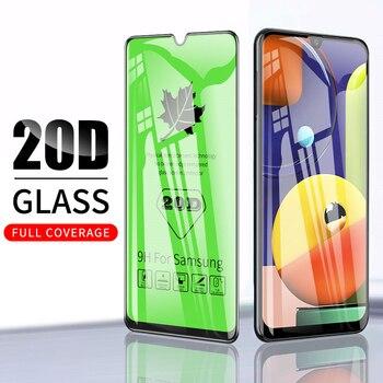 Перейти на Алиэкспресс и купить Защитное стекло 20D для OPPO A11 A11X A9 F11 A3S A5 A5S Reno 2 ACE Pro 2020, закаленное стекло для экрана, стекло с полным покрытием