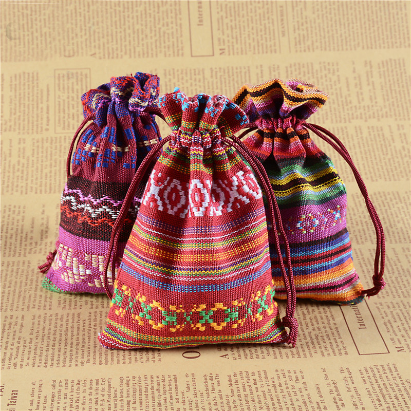 Drawstring Jewelry Bag Pouch Christmas Wedding Gifts Bags Drawstring Packing Organizer Bag Fashion Women Small Coin Money Pouch