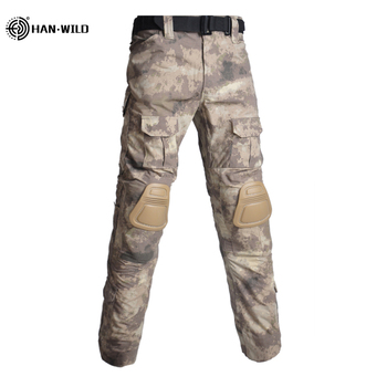 Military Uniform  Tactical Combat Shirt Us Army Clothing Tatico Tops Airsoft Multicam Camouflage Hunting FishingPants Elbow/Knee 21