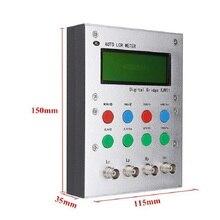 XJW01 Puente digital 0.3% LCR resistencia del probador, inductancia, capacitancia, ESR, producto terminado