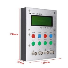 XJW01 ponte digitale 0.3% LCR tester di resistenza, induttanza, capacità, ESR, prodotto finito