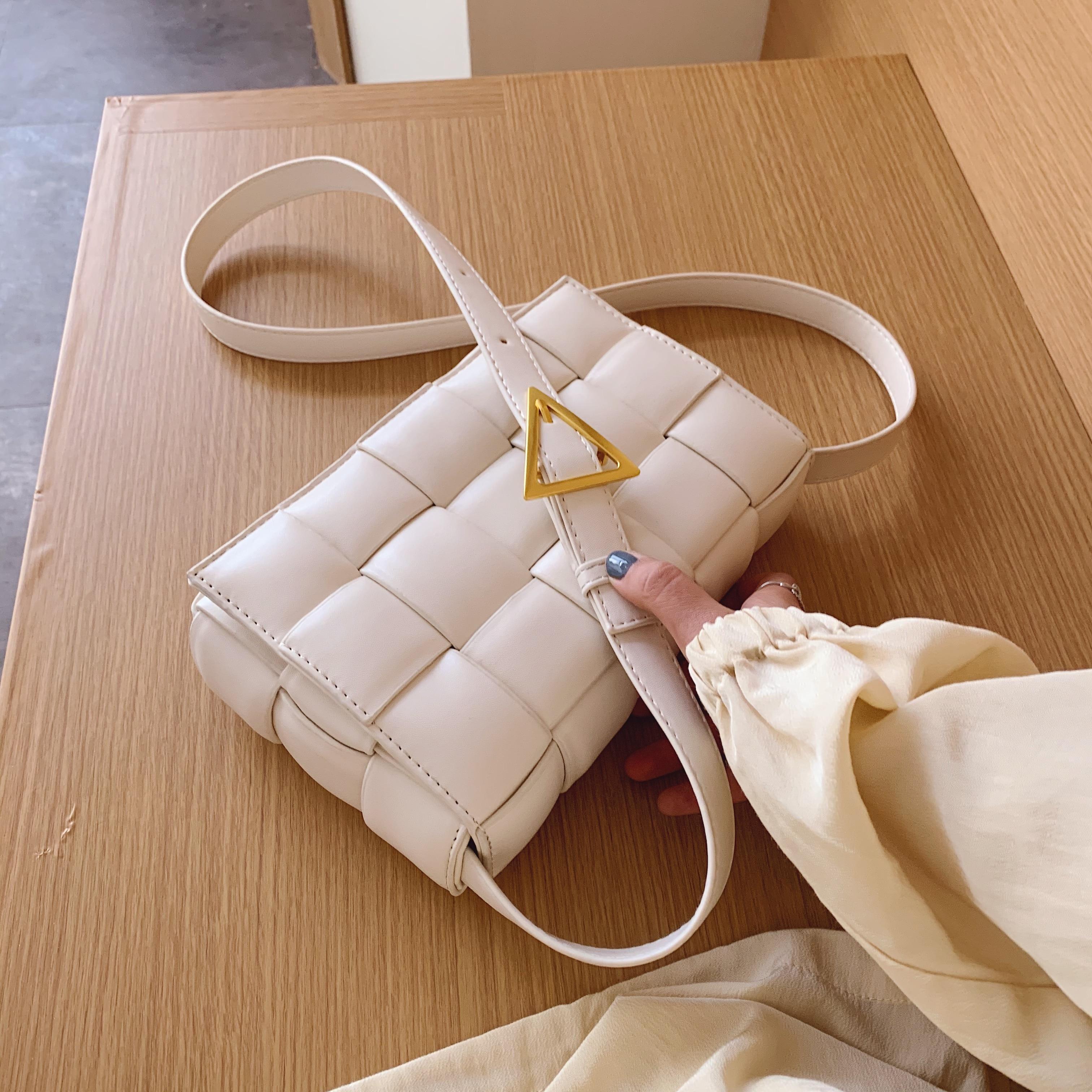Женская сумка через плечо, плетеные Лоскутные сумки для женщин, 2020, новинка, хорошее качество, модная искусственная кожа, сумка через плечо, женская сумка|Сумки с ручками|   | АлиЭкспресс