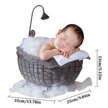 Реквизит для фотосъемки новорожденных Маленькая кровать фотостудия фото фаза сто дней детские кровати деревянные полнолуние детские фото кровать детские игрушки