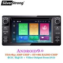 SilverStrong Android10-9.0 2Din Radio GPS DVD de coche para MITSUBISHI OUTLANDER 2017, 2014, 2015, 2016 GPS para PAJERO ASX 4G Radio