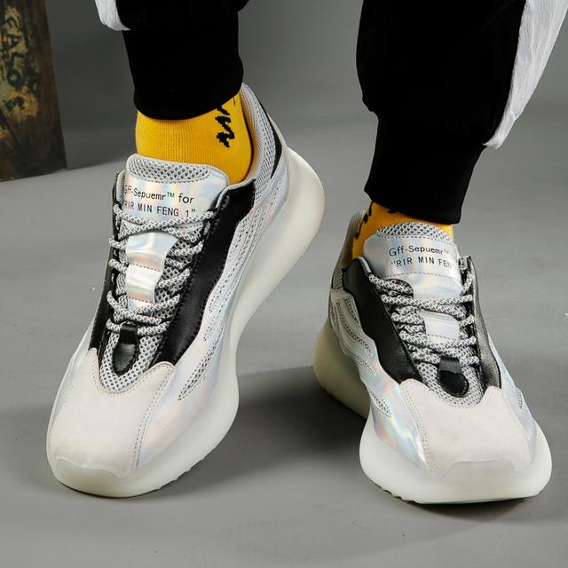 Al aire libre zapatillas de correr para hombre transpirable zapatillas de deporte Hombre cómodas antideslizante de amortiguación deportes zapatos de tendencia de QualityTraining zapatos 4