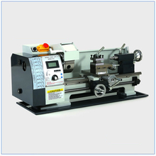 Brushless Motor Metal Lathe 2500RPM 750W Mini Bench Lathe Variable Spindle Speed Lathe Machine for Mini Precision Parts Process