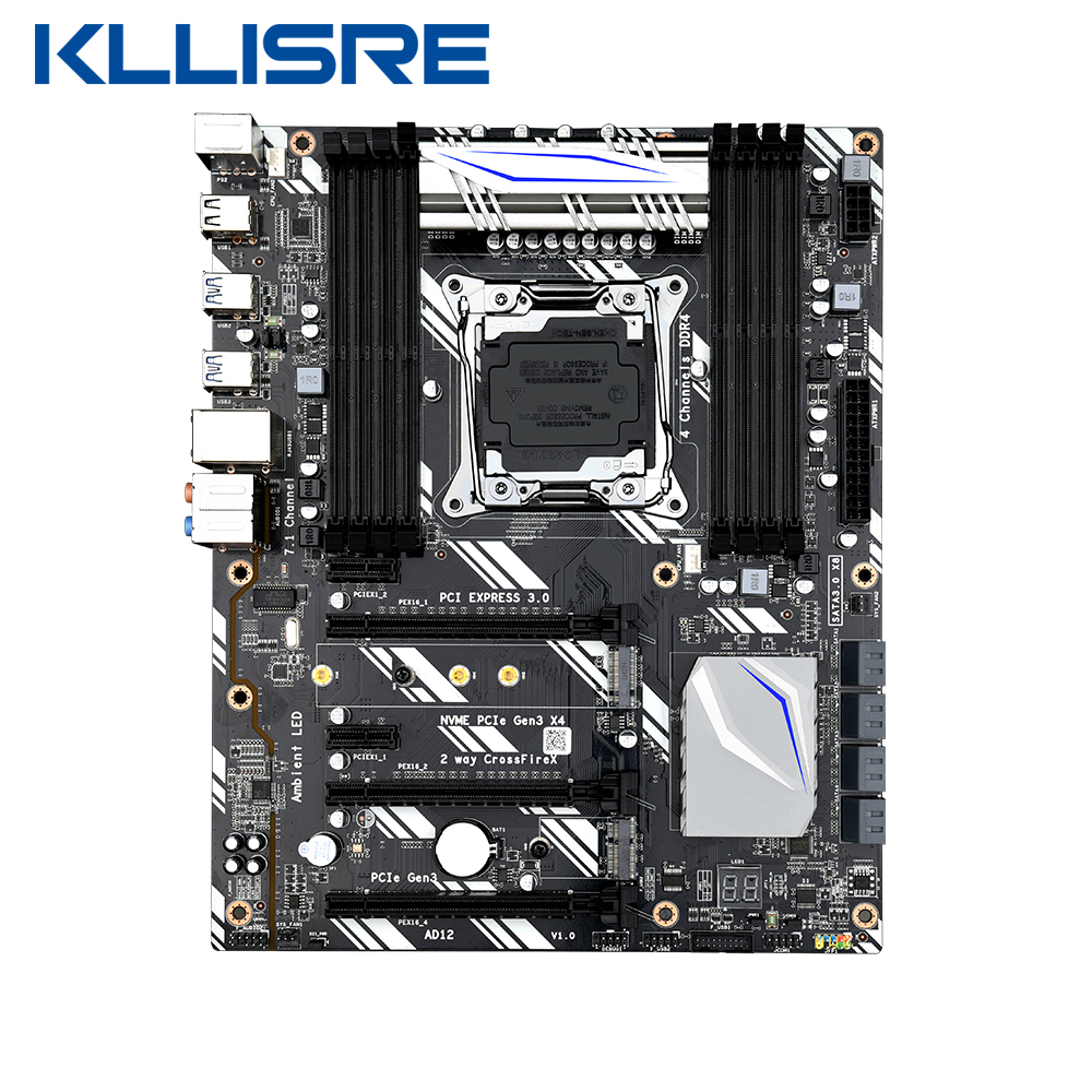 Kllisre X99 D8 motherboard slot LGA2011 3 USB3.0 NVME M.2 SSD wifi support DDR4 memory and Xeon E5 V3 processor|Motherboards| - AliExpress