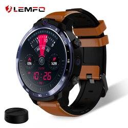 LEMFO LEM12 Smartwatch Männer Gesicht ID 1,6 Zoll Display Dual Kamera LTE 4G Smart Uhr Android 3GB 32GB 900mah Batterie Power Bank