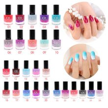 Get more info on the Perfect Shiny Nail Art Gel Polish 12ml Nail Polish Beauty Fast Drying Temperature Color Changed Nails Polish Tools 26 Color