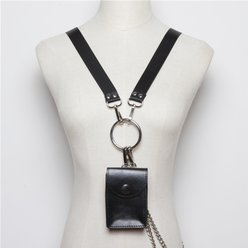 TVVOVVIN 2020 Mini Bag Female New Original Design Wild Detachable Metal Chain Slung Hanging Neck Dual-use Bag PC200