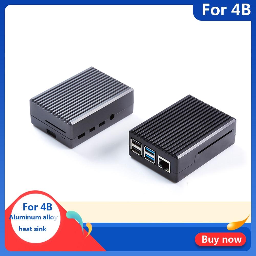 Raspberry Pi 4  Model B  Aluminum Alloy Case/ Passive Cooling Shell Metal Enclosure Heat Dissipation For Pi 4B