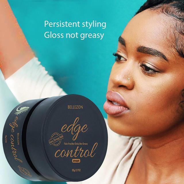 Освежающее масло для волос, твердый восковой крем, контроль за краями, стойкий крем для волос, отделочный антибликовый гель для волос