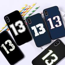YNDFCNB lucky number 13 Phone Case for iPhone 11 12 pro XS MAX 8 7 6 6S Plus X 5S SE 2020 XR cover
