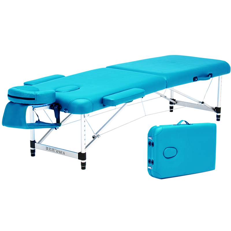 Folding Massage Bed, Beauty Bed, Massage, Physical Therapy, Acupuncture Bed, Fire Therapy, Household Portable Embroidery