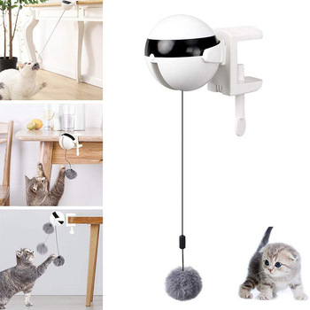 Electric Automatic Lifting Cat Ball Toy Interactive  1