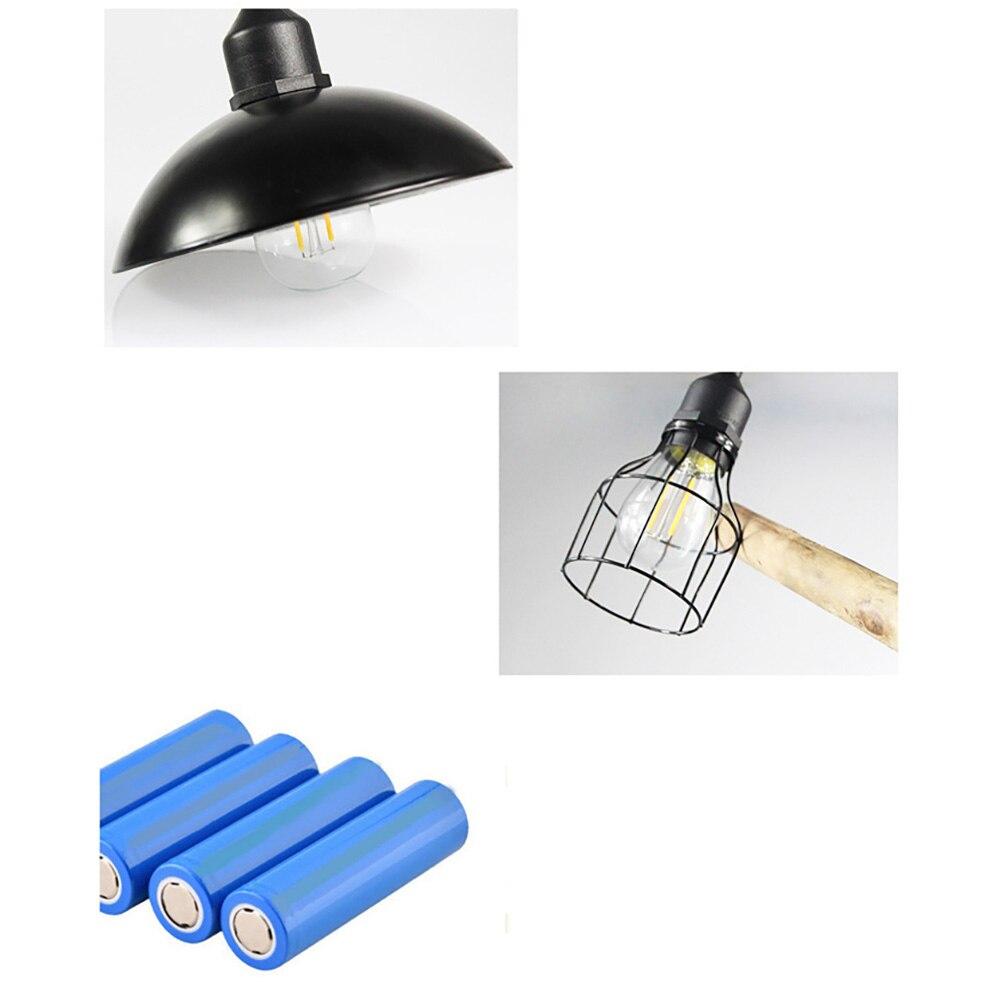 com controle remoto lampada solar retro lustre 05