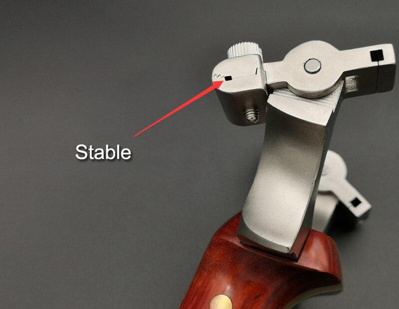 de aço inoxidável alta precisão estilingue tiro