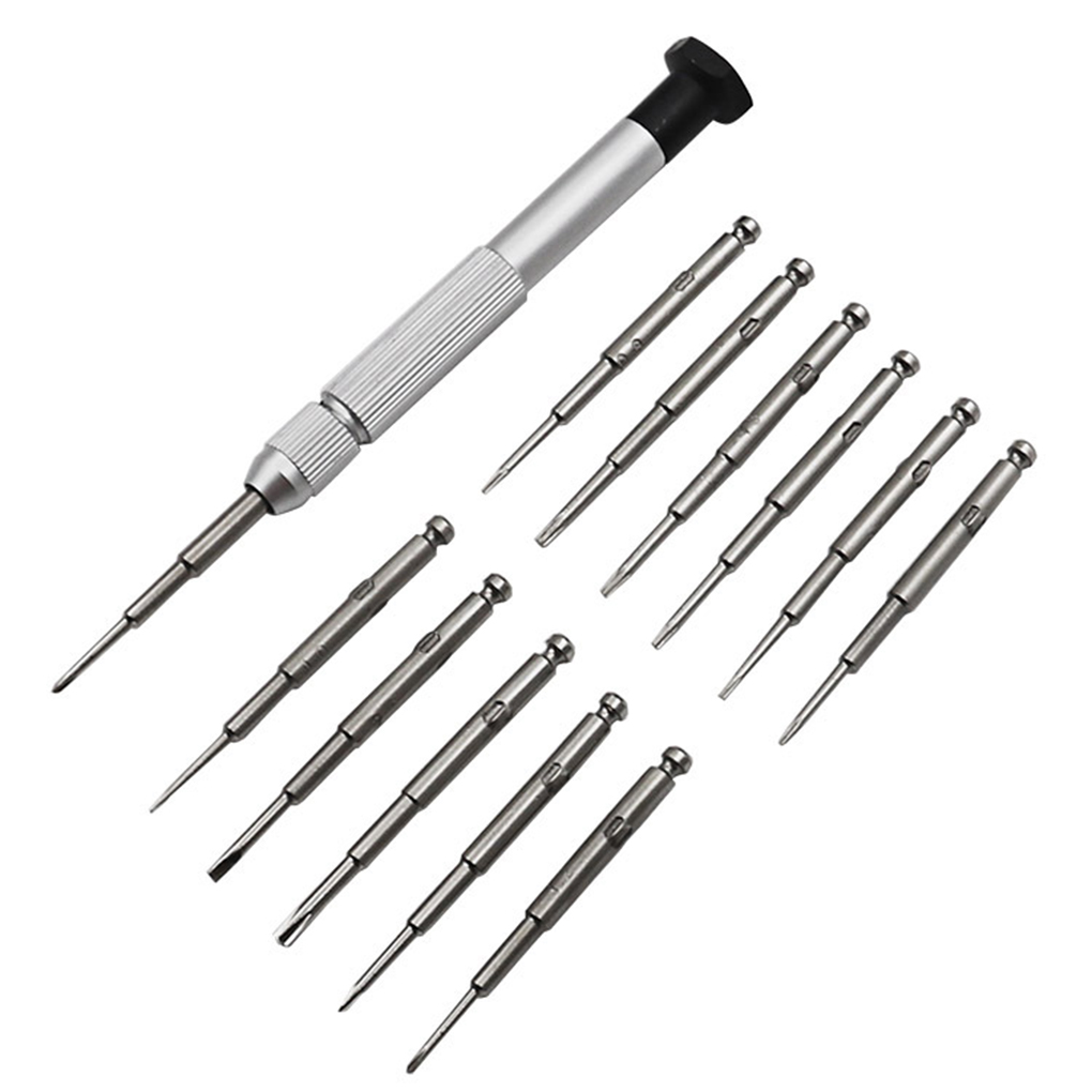 25 in 1 <font><b>Screwdriver</b></font> Set Mini Precision <font><b>Screwdriver</b></font> Tool Set Replacement for PC Glasses Mobile Phone Laptop Watch image