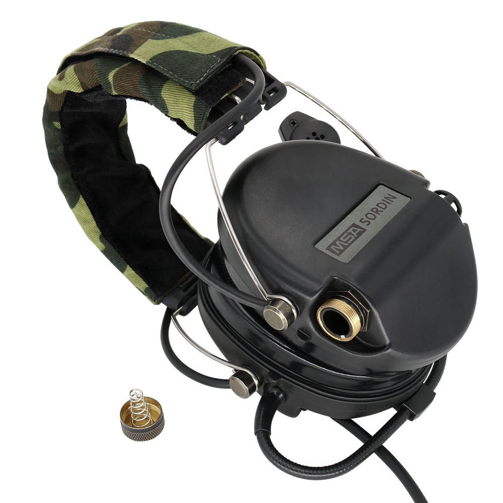 Tactical Electronics SORDIN Shooting Headphones Noise Reduction Pickup Air Gun Military Tactical Headset Softair BK