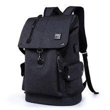 패션 남성 배낭 캐주얼 남성 배낭 방수 나일론 노트북 배낭 십대 소년 Schoolbags Mochila 학교 Backapck 남성