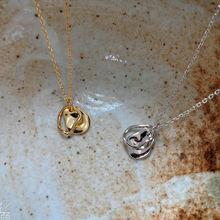 Женское минималистичное ожерелье amaiyllis из серебра 925 пробы