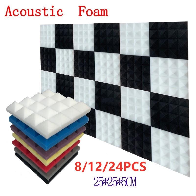 250x250x50mm-8-12-24pcs-studio-acoustic-soundproof-foam-pyramid-sound-absorption-treatment-panel-tile-wedge-protective-sponge