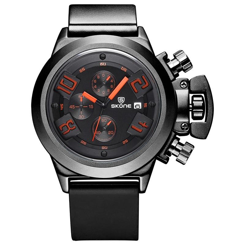 2020 new hot luxury brand fashion business men's watch waterproof silicone multi-function quartz watch Relogio Masculino
