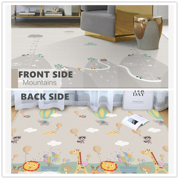 200*180 Baby Toys Play Mat Kids Carpet for Toddler Foldable Crawling Playmat Soft Floor Rug for Decor Home Double-sided Mat baby cushion crawling play mat playmat kids gift toy child carpet play soft floor gym rug baby room decoration accessories china