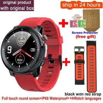 L15 Smart Watch Men 1.3inch Full-fit Round Retina Display Music Control Camera Flashlight PK L5 L9 Smartwatch IP68 Waterproof 10
