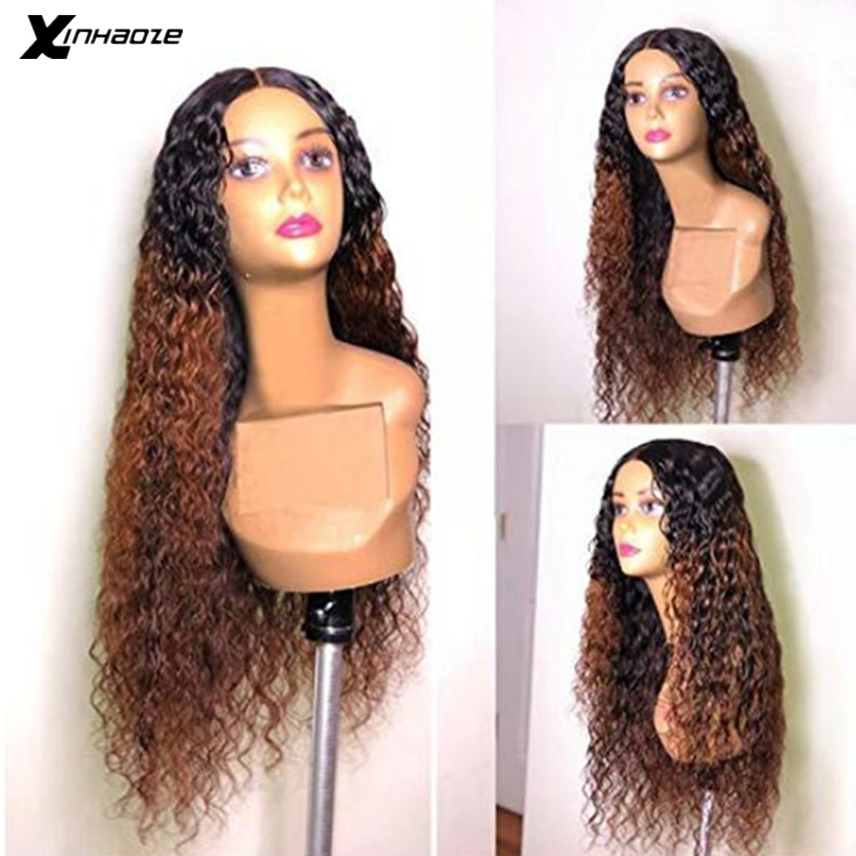 13x6 Lace Frontal Wig Brazilian Lace Front Ombre Human Hair Wigs Women Remy Wet & Wave Pre Plucked Full Ends Deep Part Wig